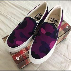 purple bape shoes outlet store 35658 85be1